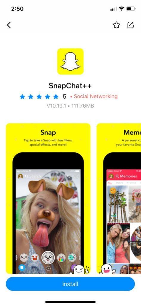 تحميل سناب شات بلس للايفون 10 27 5 مكرر Ios 14 13 12 الإصدار الجديد متجر Tutuapp تنزيل Snapchat Plus Ios Download