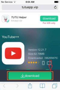 تحميل يوتيوب بلس YouTube Plus على الايفون - برنامج الارنب الصيني