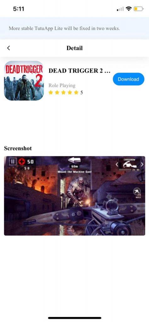 تحميل Dead Trigger 2 للايفون - برنامج الارنب الصيني