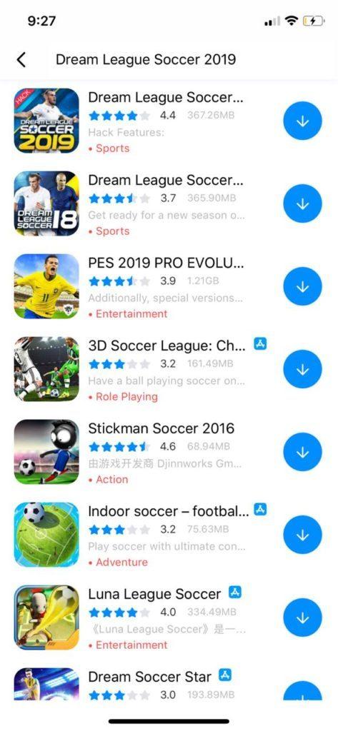 Dream Leageu Soccer 2019 للايفون