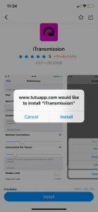 تنزيل iTransmission للايفون - برنامج الارنب الصيني TuTuApp