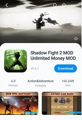 تنزيل لعبة Shadow Fight 2 للايفون